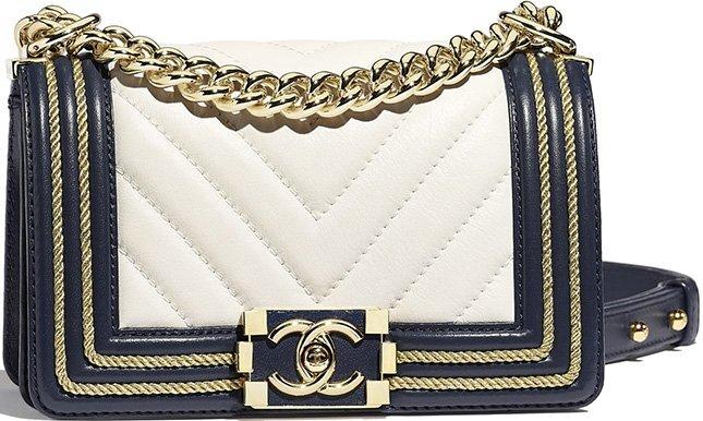 Chanel Small Boy Braided Bag