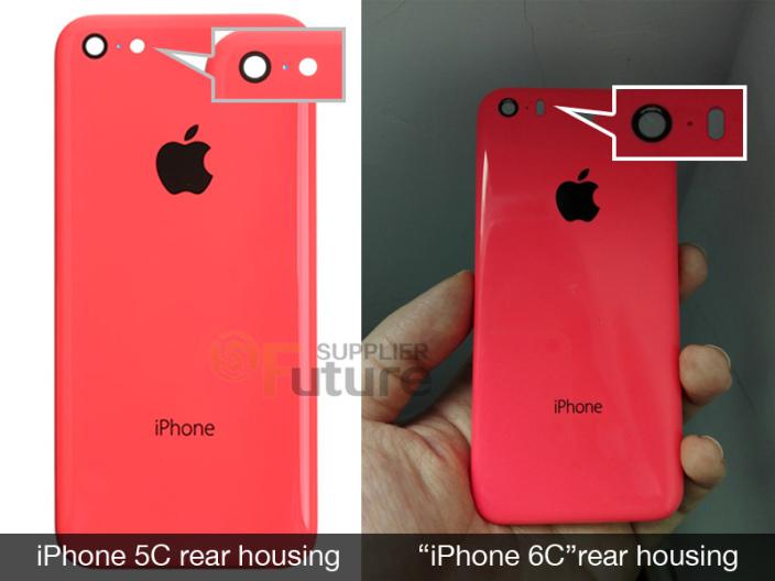 Hình ảnh được cho là iPhone 6C.