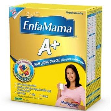 Sữa Enfamama A+ Vani DHA 650g