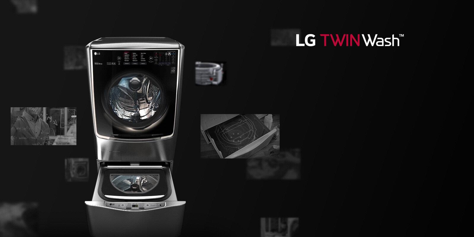 Động cơ của máy giặt LG F2721 SSAV, 21kg Inverter có nhiều khác biệt diệu kỳ