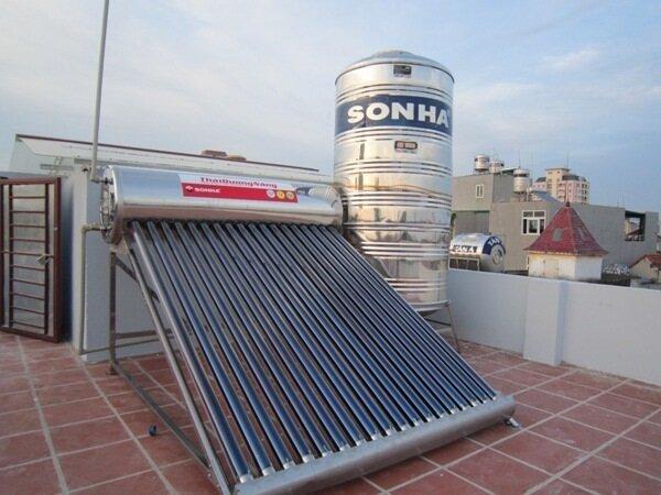 Bình nóng lạnh năng lượng mặt trời Sơn Hà