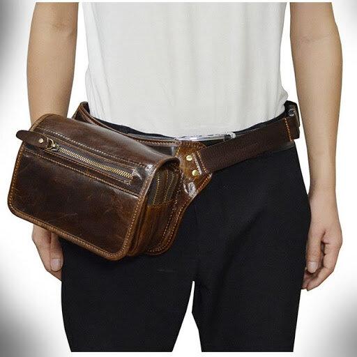 Cách đeo túi đeo chéo nam