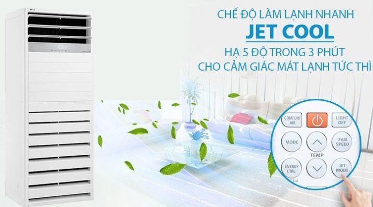 Điều hòa câytủ đứng LG Inverter 5 HP APNQ48GT3E3 - Giá rẻ nhất: 36.800.000 vnđ