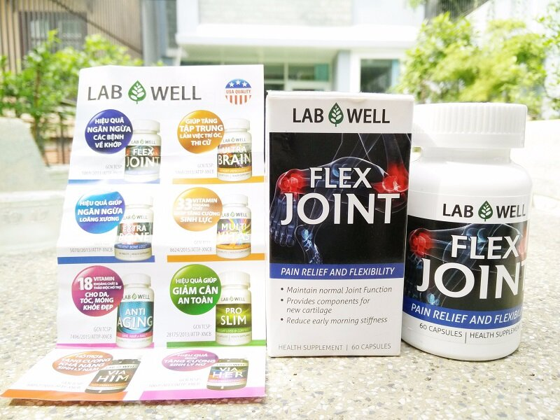 Lab Well Flex Joint Pain Relief and Flexibility