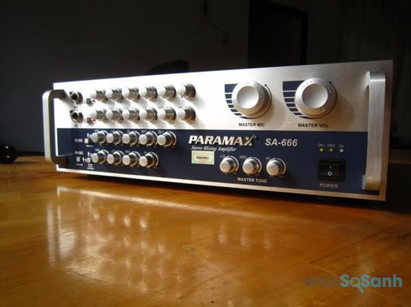 Amply Paramax được tin tưởng và sử dụng nhiều