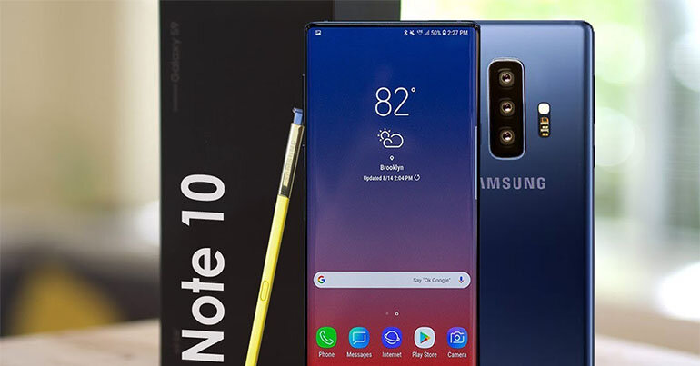 Thiết kế của Galaxy Note 10 rất ấn tượng và phong cách (Nguồn: bachlongmobile.com)