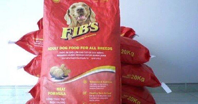 Thức ăn cho chó Fib's bao 20kg