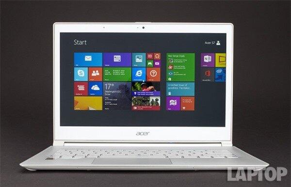 Đánh giá nhanh Ultrabook Acer Aspire S7 2014