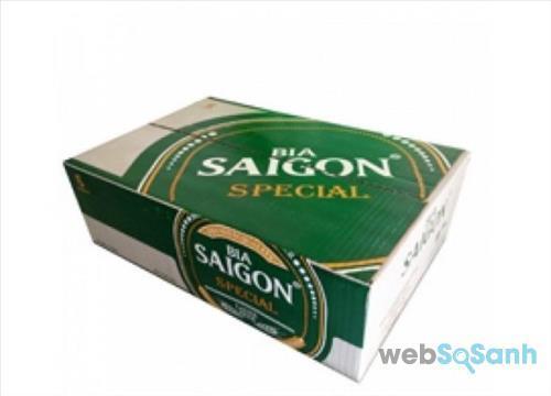 Giá thùng bia Sài Gòn