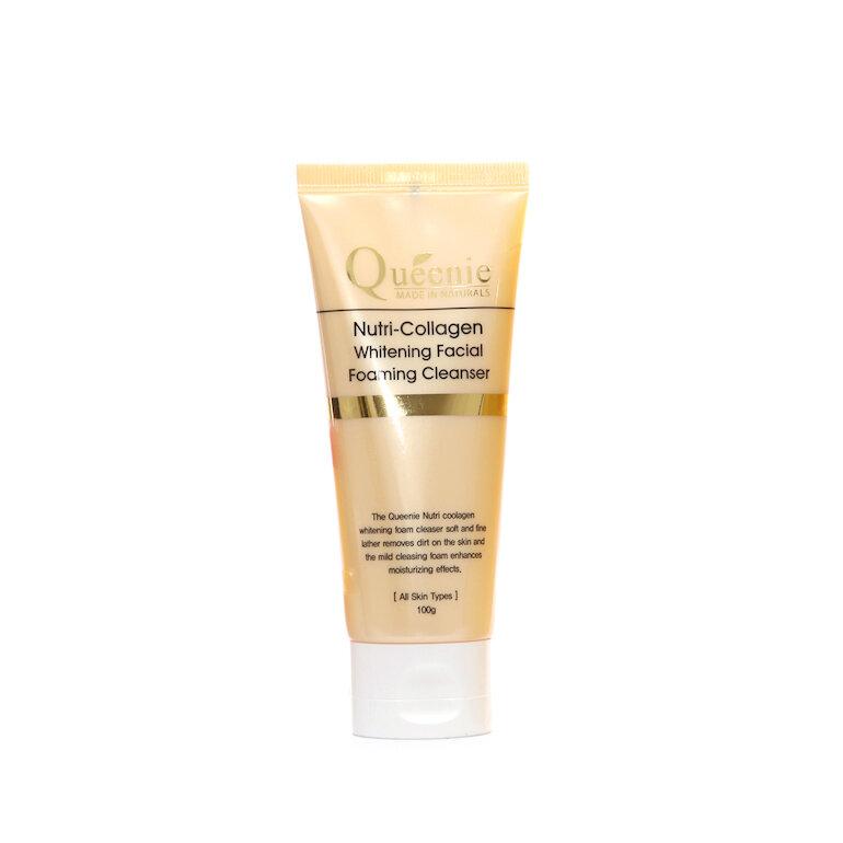 Sữa rửa mặt Queenie Nutri Collagen Whitening Facial Foaming Cleanser