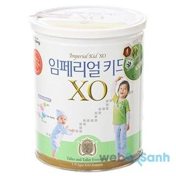 Sữa bột tăng cân cho bé XO Kid 4