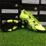 Adidas X 15.1 FG Black- Yellow