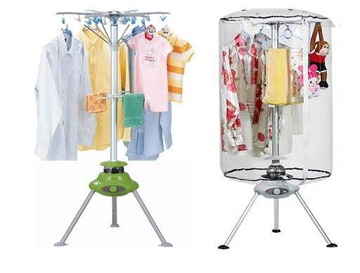 Máy sấy quần áo dạng túi có thiết kế gọn nhẹ cùng chi phí hấp dẫn được nhiều gia đình lựa chọn