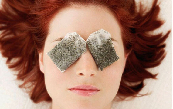 Trà túi lọc giúp giảm quầng mắt