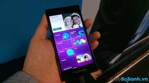 Màn hình của BlackBerry Leap