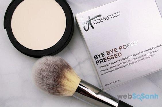 Phấn phủ dạng nén và dạng bột It cosmetics Bye Bye Poreless Powder