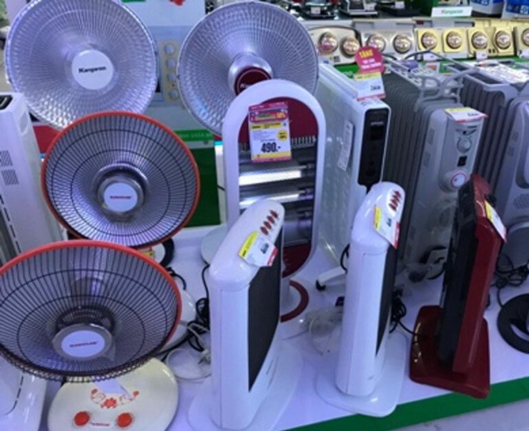 Nhu cầu mua các thiết bị sưởi ấm, giữ nhiệt TĂNG ĐỘT BIẾN do tiết trời RÉT SÂU