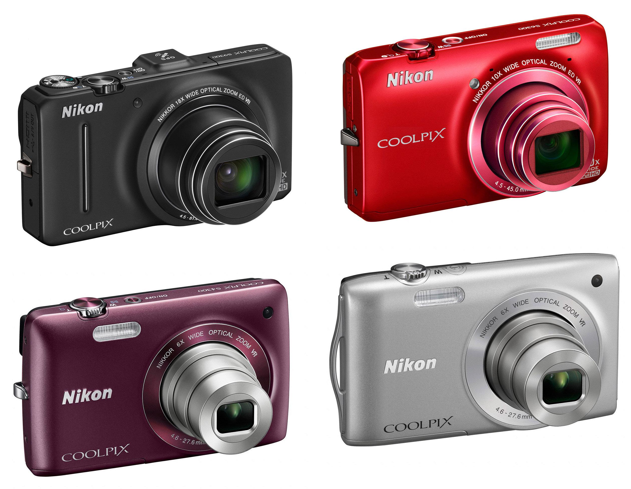 Máy ảnh Nikon Coolpix S3300 nhiều màu sắc