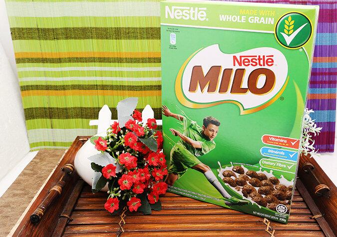 Ngũ cốc ăn sáng Milo Nestlé