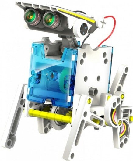 Create 14 solar robots with the 14-in-1 Educational Solar Robot Kit from OWI