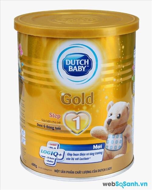 Sữa bột Dutch Lady Cô gái Hà Lan Gold Step 1