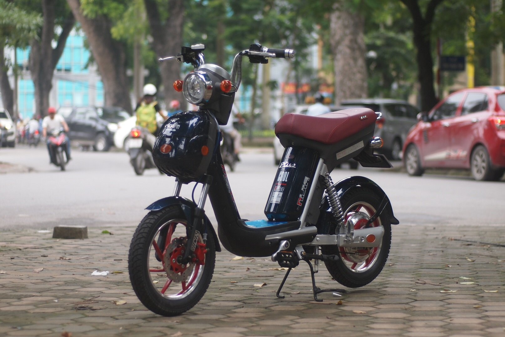 Xe đạp điện Nijia sở hữu khả năng chống nước và tiết kiệm điện cao