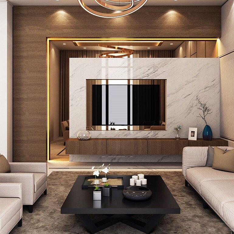 nội thất cao cấp phòng khách
