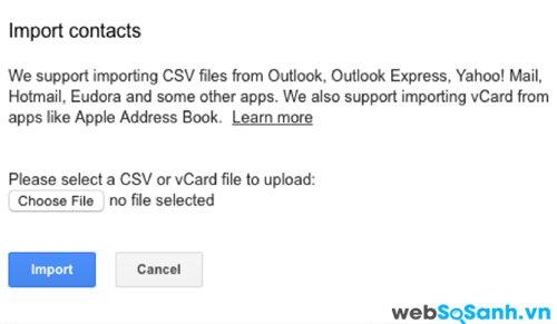 Google khiến cho việc chuyển các địa chỉ liên lạc dễ dàng hơn bất cứ thứ gì