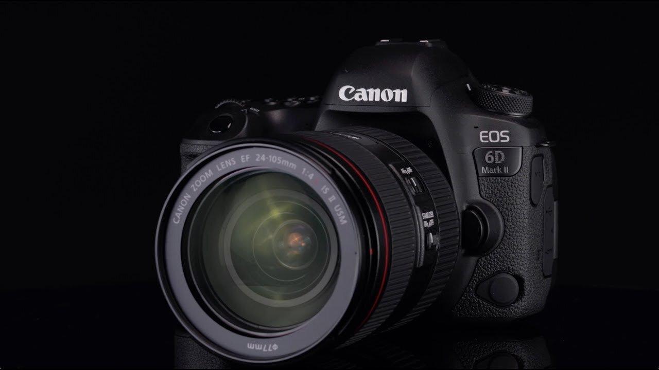 Canon EOS 6D Mark II với nhiều tính năng vượt trội