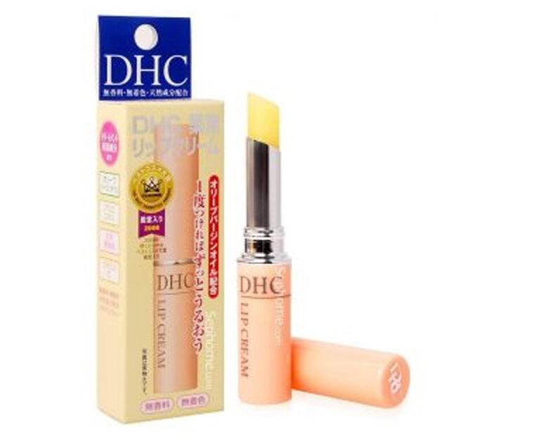Review son dưỡng không màu DHC Medical Lip Cream