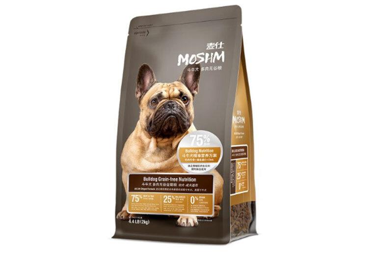 Thức ăn cho chó Moshm Bulldog Grain Pree Nutrition