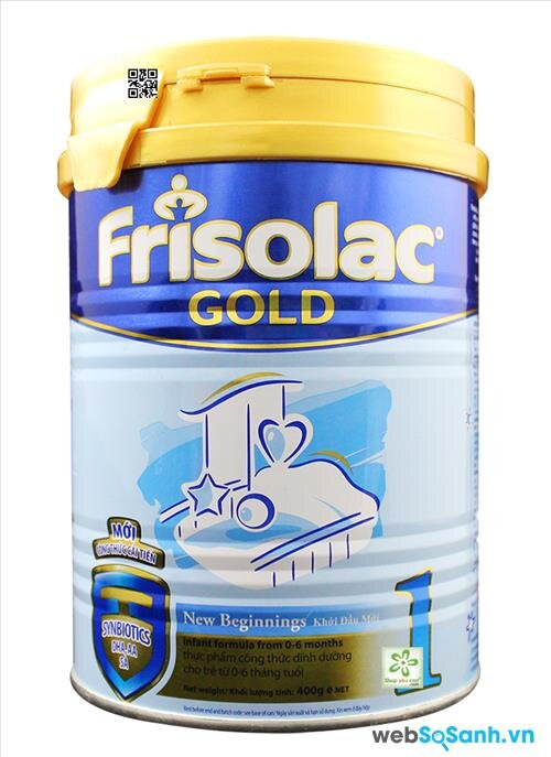 Sữa bột Frisolac Gold 1