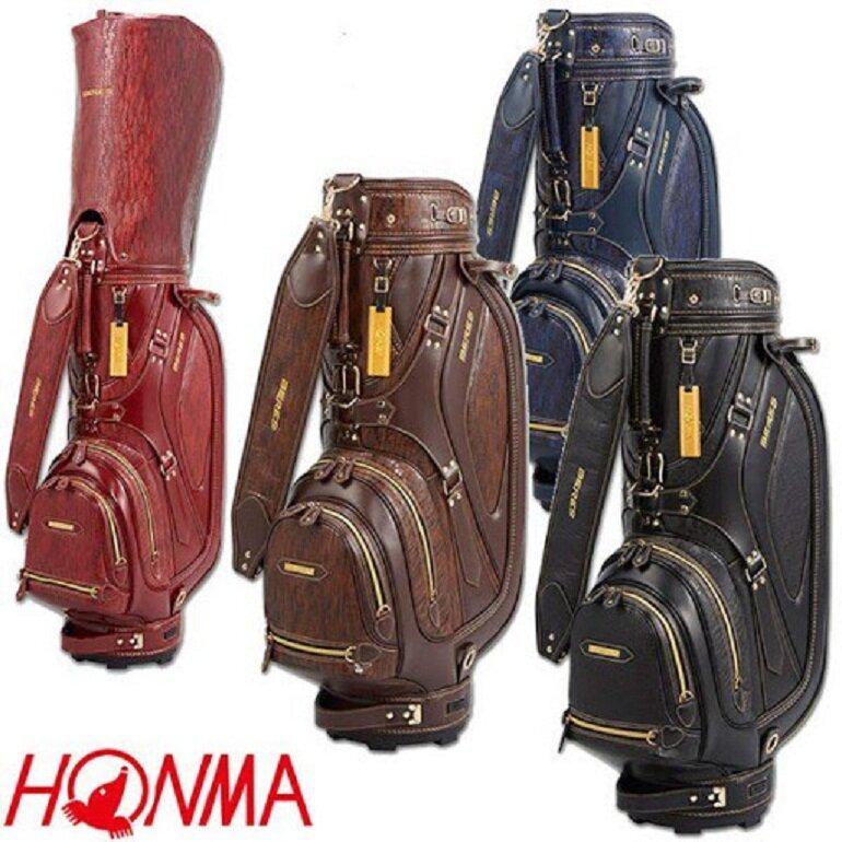 Túi gậy golf Honma được làm từ các chất liệu cao cấp