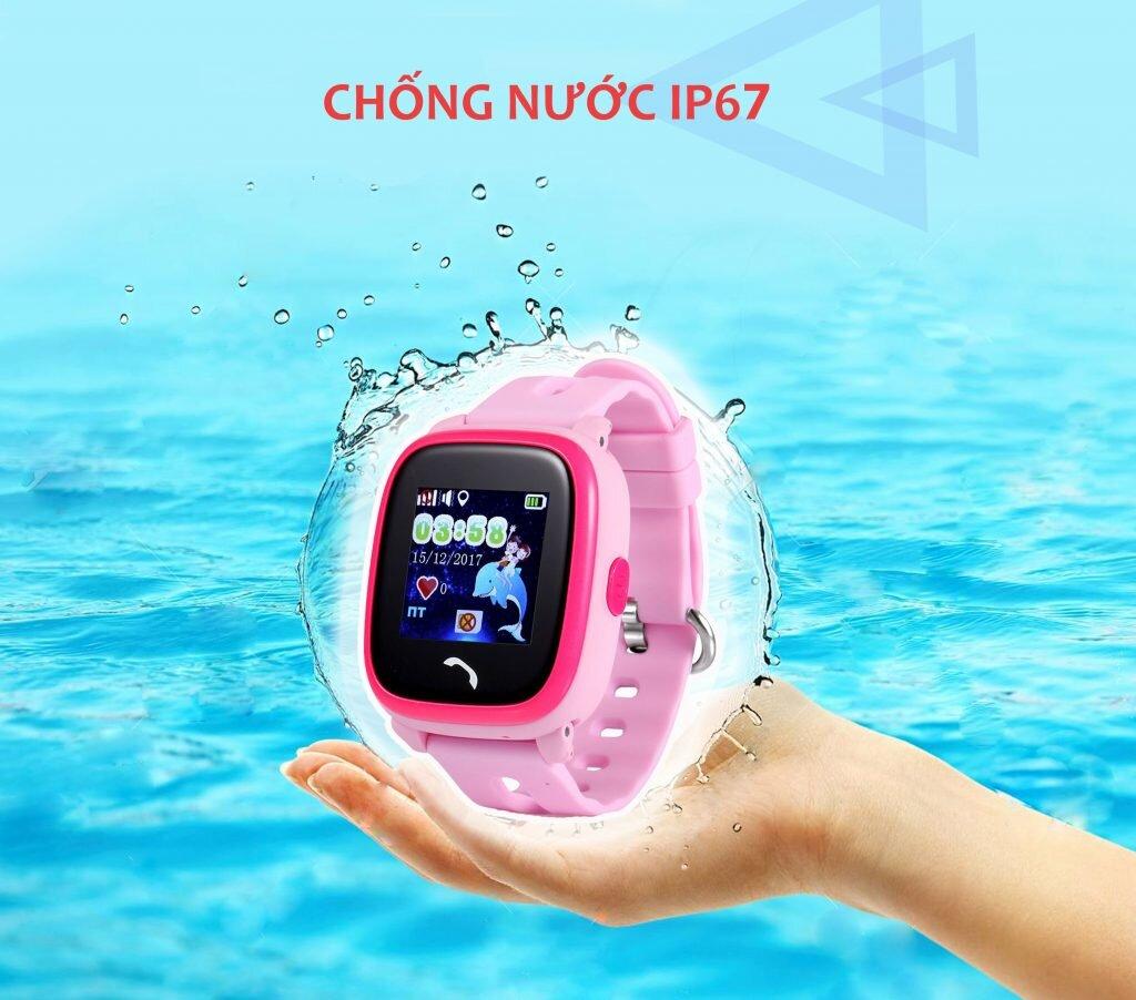 Đồng hồ Wonlex đạt chỉ số chuẩn chống nước, ngăn bụi IP67