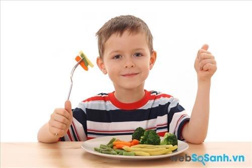 Trẻ em là một trong những đối tượng cần xem xét khi ăn chay