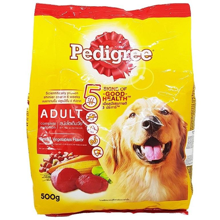 Pedigree là thương hiệu thức ăn cho chó của Tập đoàn Mars