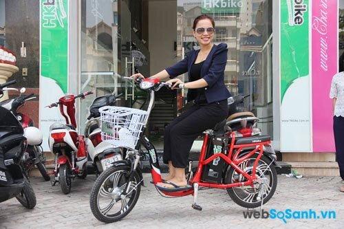Giá cả phải chăng là yếu tố nhiều người cần khi mua xe đạp điện