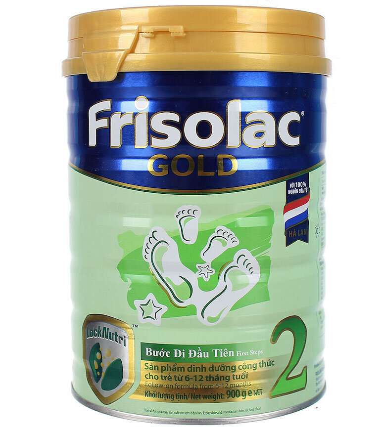 Sữa bột Frisolac Gold 2