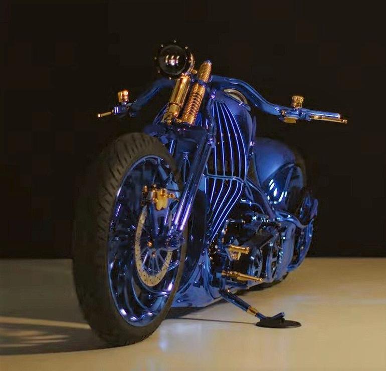 The Harley-Davidson Softail Slim S Blue Edition