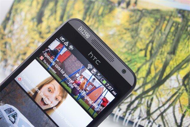 HTC Desire 300 loa và camera trước