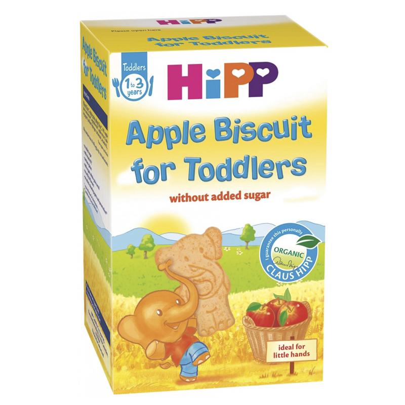 Bánh ăn dặm Hipp có loại cho bé từ 6 tháng đến 3 tuổi