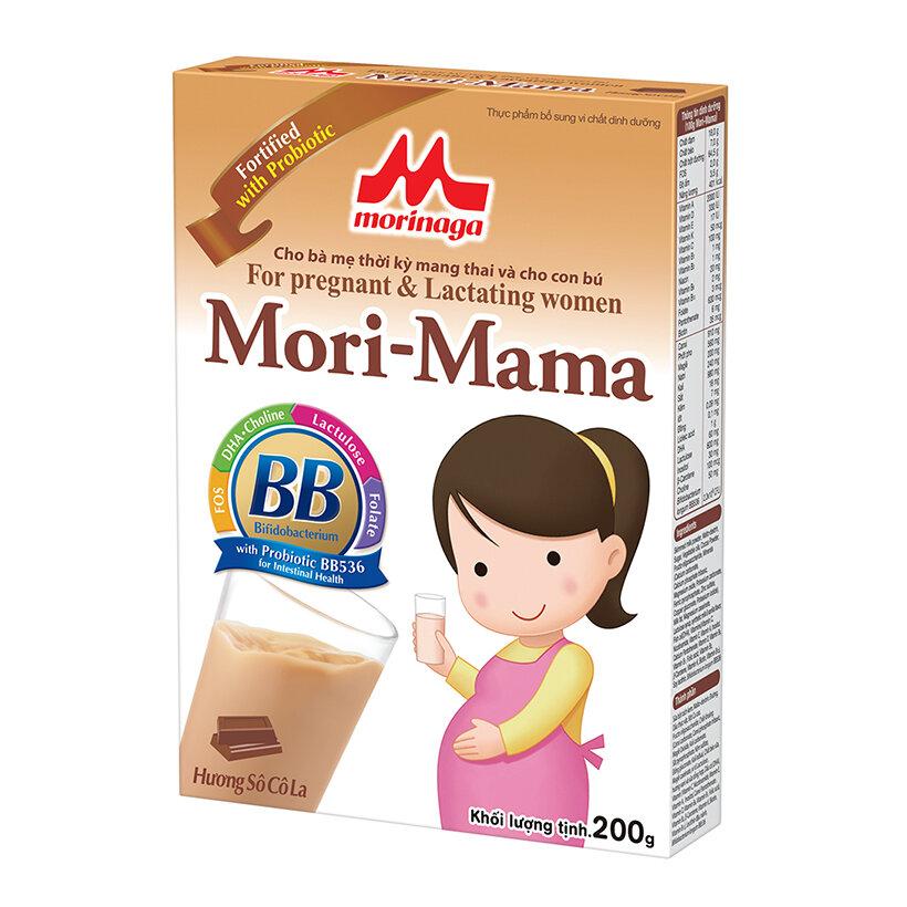 """""""Sữa gì tốt cho bà bầu?"""" - Thử ngay Mori Mama thơm ngon, đầy đủ dưỡng chất cho mẹ"""