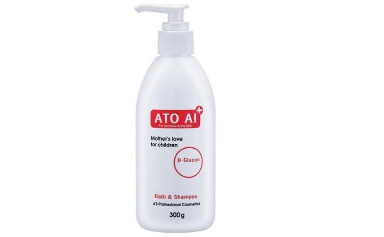 Sữa tắm Hàn Quốc cho trẻ sơ sinh ATO AI Bath & Shampoo - Giá tham khảo: 230.000 vnđ/ chai dung tích 300ml