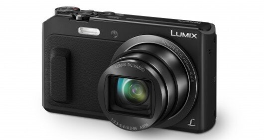 The Panasonic Lumix TZ57 (ZS45 in the US) has a 1,040k dot 3-inch LCD on the rear and user...