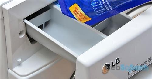 máy giặt LG không mở được cửa
