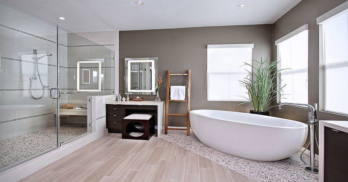 cách bố trí nội thất phòng tắm giá rẻ