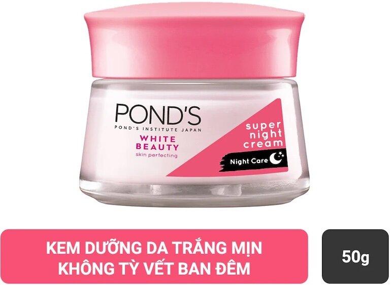 Kem dưỡng da Pond ban đêm có những thành phần nào?
