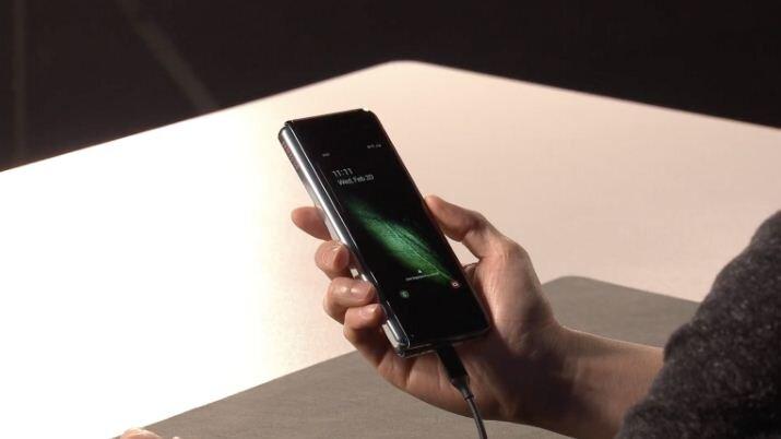 Smartphone màn hình gập Samsung Galaxy Fold 5G