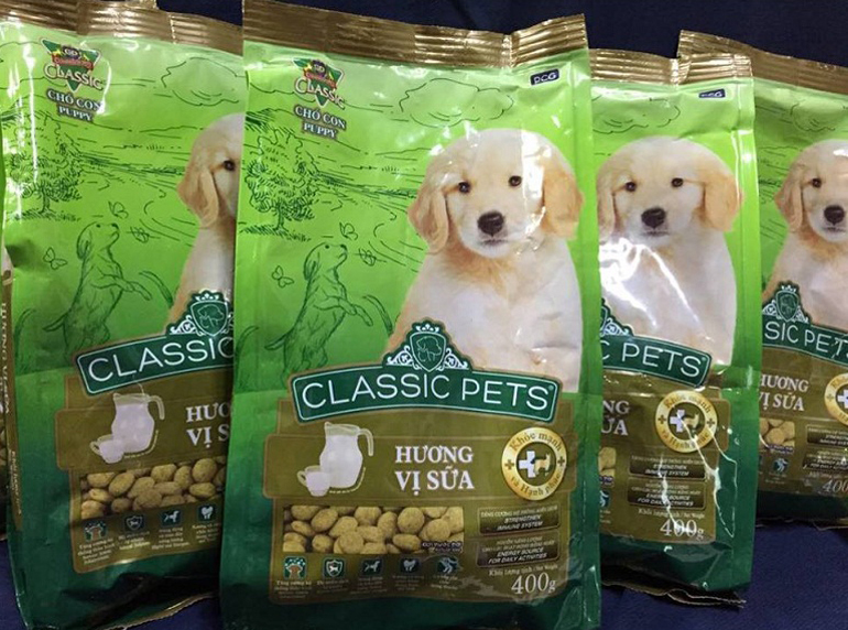 Kinh nghiệm chọn thức ăn khô phù hợp cho chó con