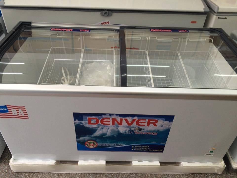 Tủ đông Denver AS 358X có vỏ hợp kim chống gỉ sét, bên trong áp dụng công nghệ lòng phẳng kháng khuẩn